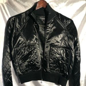 Funky and Fabulous Black Bebe Jacket